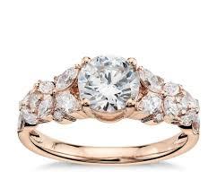 unique fashion rings images Unique rose gold engagement rings popsugar fashion