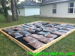 backyard playground mulch backyard