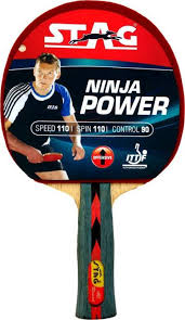 best table tennis racquet stag ninja power with deluxe case red black table tennis racquet