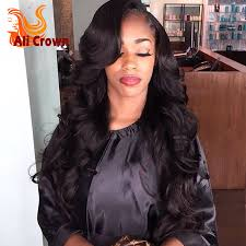 body wave u part wigs virgin hair top quality side part