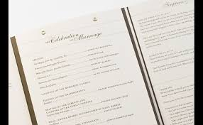 booklet wedding programs wedding program design options embossed foil printing uv
