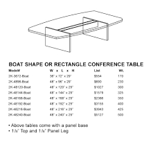 Racetrack Boardroom Table New 2k Racetrack Conference Table Anderson U0027s Office Furniture