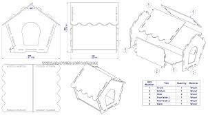Drawing House Plans Knock Down Dog House Plan