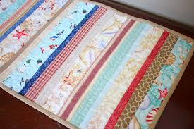 a summer table runner diary of a quilter a quilt blog