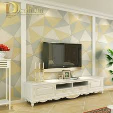 3d Wallpaper Home Decor Wallpaper Modern Geometric Promotion Shop For Promotional