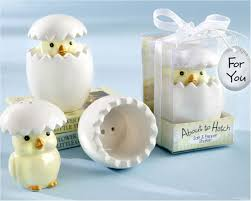 baby shower return gifts wholesale ywbeyond about to hatch baby salt and pepper