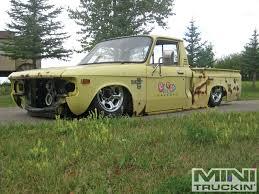 nissan frontier junkyard parts chevy luv junkyard jewel part 8 powertrain mini truckin u0027 magazine