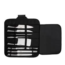 vonshef 9 piece stainless steel kitchen knife set and professional