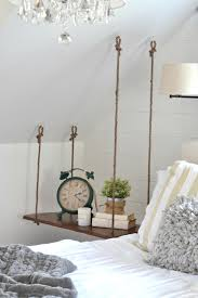 how to make a bed table how to make a hanging side table diy aimee weaver designs llc