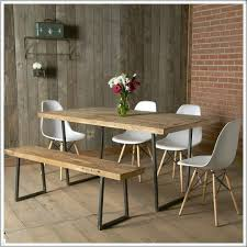 Oak Furniture Dining Tables Dining Tables Brooklyn Modern Rustic Reclaimed Wood Dining Table