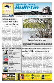 the sioux lookout bulletin vol 23 no 38 july 30 2014 by