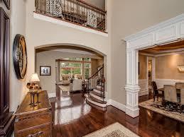 traditional entryway with hardwood floors u0026 carpet in cornelius