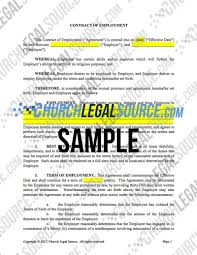 Termination By Notice by Employment Forms Shop Church Legal Source You Do Ministry