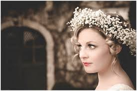 wedding headdress bohemian wedding flower ideas