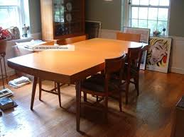 dining tables mid century modern expandable dining table mid