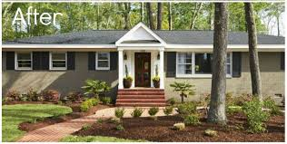 best home facelifts gateway realty wiggins plain windows a plain roof and an abandoned yard aren t very impressive refreshing the paint and adding dark shutters make this home