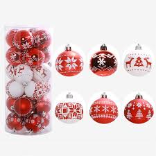 24pc tree balls decorations baubles wedding