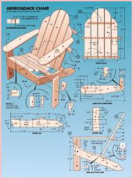 Child Adirondack Chair Adirondack Chair Plan Easy Furniture Projects