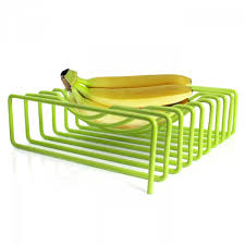block design block design lime green wire fruit bowl vibrant home