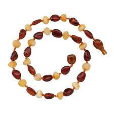 teething bead necklace images Nature 39 s beads of love baltic amber teething bead necklace multi