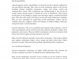 Resume For Maintenance Engineer Sample Resume For Aircraft Mechanic Maintenance Engineer Resume