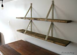 Wood Shelves Build by Diy Wood Pallet Shelves Creatively Living Blog