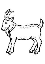 free coloring pages goats coloring pages goat goseas me