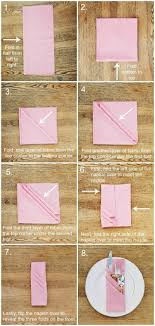 how to fold napkins for a wedding 31 best wedding serviettes images on tables wedding