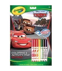 amazon crayola disney pixar coloring activity book