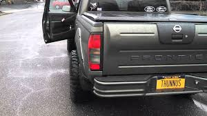 nissan frontier 2001 custom nissan frontier exhaust youtube