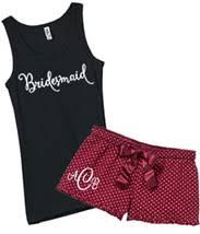 bridesmaid pajama sets shorts bridesmaid shorts honeymoon shorts personalized