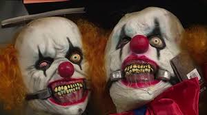 target pulls scary clown masks from halloween section cw33 newsfix
