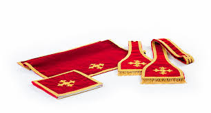 chalice veil stoles maniples burses and chalice veils solemnis