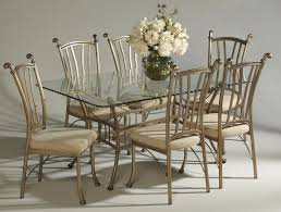 Industrial Style Dining Room Tables Dining Tables Good Wrought Iron Dining Room Table In Modern Wood