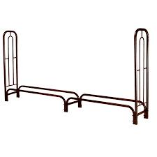 shop landmann usa 8 ft log storage rack at lowes com