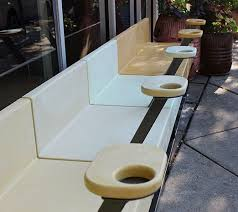 Outdoor Furniture Baltimore by Cafe U0027 Bench For Local Baltimore Restaurant Made From Colored