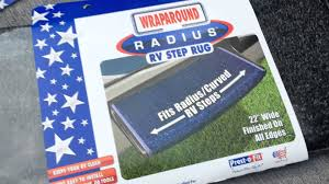 Rv Patio Rugs by Product Review Prest O Fit Radius Rv Step Rug Youtube