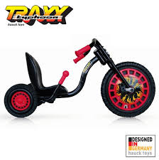 black friday 4 wheeler sale amazon com hauck traxx typhoon three wheeler black and red toys
