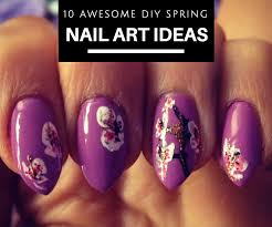10 awesome diy spring nail art ideas