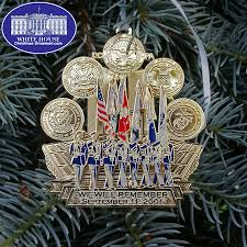 2012 remember september 11 2001 commemorative ornament