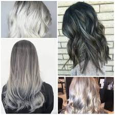 trendy silver hair colors for 2017 u2013 best hair color ideas