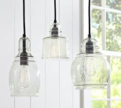 hanging glass pendant lights clear glass pendant lights luxurydreamhome intended for stylish