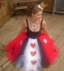 queen of hearts boutique tutu skirt costume 75 00 via