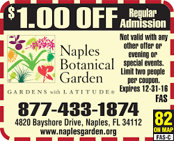 Botanical Garden Naples by Naples Botanical Gardens Florida Coupons And Deals