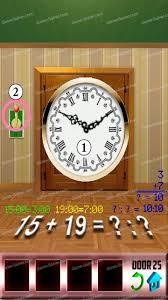 100 doors level 25 game solver