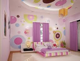 Stylish Pink Bedrooms - neoteric design girls bedroom wallpaper ideas stylish pink
