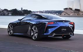 lexus frs coupe lexus exec hints lf lc concept is production bound
