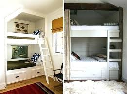 Bunk Bed For Small Spaces Bedrooms With Bunk Beds Room With Blue Walls And Bunk Bed