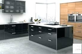 cuisine laqué noir meuble cuisine laque noir gallery of meuble cuisine noir laqu