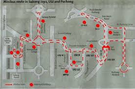 map usj malaysia map directory and malaysia map information collection